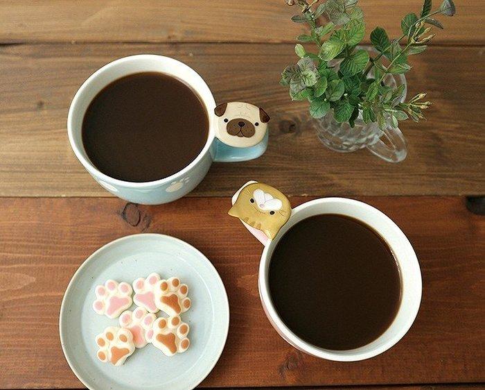 《齊洛瓦鄉村風雜貨》日本雜貨zakka 日本正版 日本DECOLE 貓咪狗狗馬克杯 咖啡杯 水杯 巴哥 橘色虎斑貓