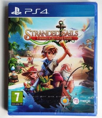 窩美 PS4 落難航船 詛咒之島的農場 探險家 Stranded Sails 中文英文