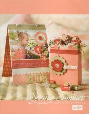 STAMPIN' UP! IDEA BOOK&CATALOG SPRING-SUMMER2008手工卡片雜誌(非貝登堡)