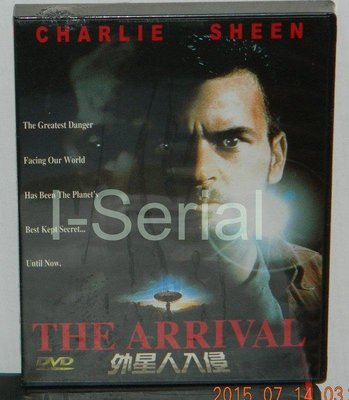 E6/全新三區正版DVD_THE ARRIVAL_外星人入侵(摩天悍將 查理辛)超級絕版