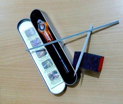 免運專業版※台北快貨※美國製 Bondic Plastic Welding Kit 神奇液態塑膠熔接劑**含4件工具組