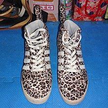 ~保證真品蠻優的 Adidas x Jeremy Scott豹紋尾巴運動鞋款US9.5號~便宜起標底價標多少賣多少