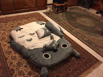 【優上精品】超大雙人睡袋可愛龍貓床 卡通懶人沙發床墊 龍貓榻榻米 個性禮物(Z-P3241)