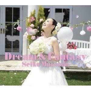 松田聖子-Dream & Fantasy -日盤,初回限定盤A,CD+寫真集+本人楽曲解説,全新未拆封