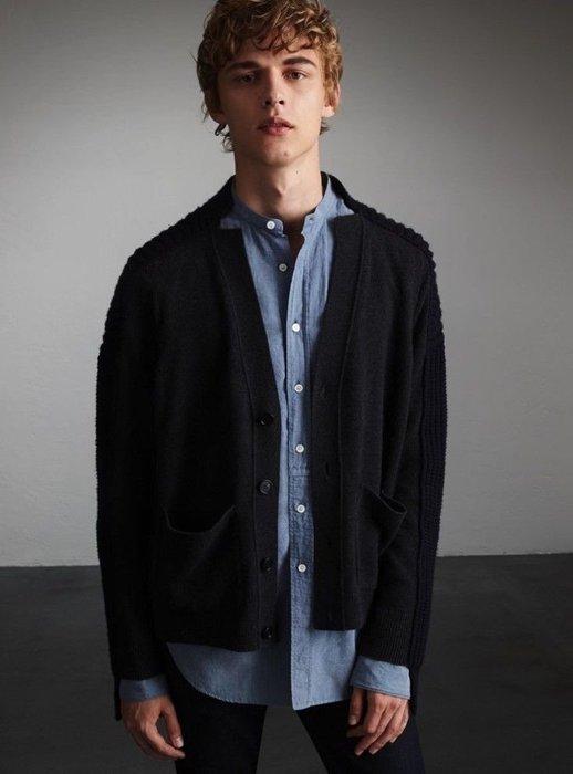 BURBERRY 正品 $1,250 英鎊  Cashmere 針織外套 S