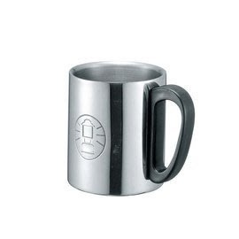【山野賣客】美國 Coleman 300 ml 不鏽鋼保溫杯 黑柄 # CM-5023J