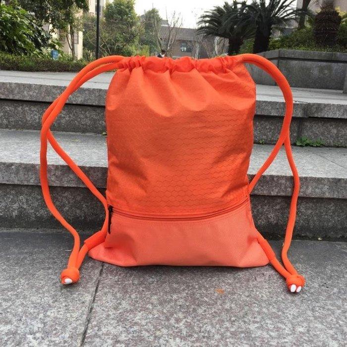 束口袋抽繩雙肩背包男女簡易雙肩包籃球袋健身運動包時尚旅行袋