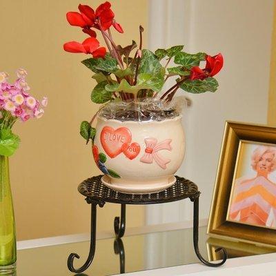 ☜男神閣☞歐式簡約鐵藝新式創意花架陽臺客廳房間落地式辦公室內外小花架