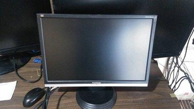 大台北 永和 二手 中古 19吋螢幕 viewsonic 三隻鳥 螢幕 LCD 出清另有22吋 24吋 28吋 螢幕出售