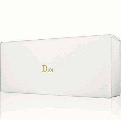 Dior 迪奧 典雅乳白長型皮革收納盒