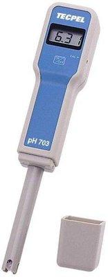 TECPEL 泰菱 》PH703 酸鹼度測試筆 筆式 PH計 水質檢測 PH (溫度補償) PH-703