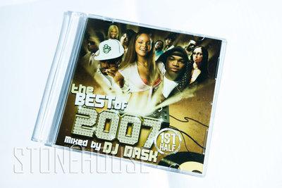 日本DJ DASK 2007 mixtape 收錄 蕾哈娜 NE-YO 阿肯 碧昂絲 提姆巴蘭 精選曲目