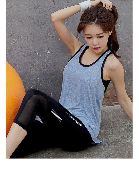 【Zoe Sport 柔依運動衣坊】韓版 女 背心 運動背心 瑜珈背心 吸濕排汗 透氣 高彈性 #C08-A09