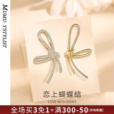 SWEET COVE~2021年新款潮耳環925銀針女個性設計感不對稱耳釘氣質高級感Z943
