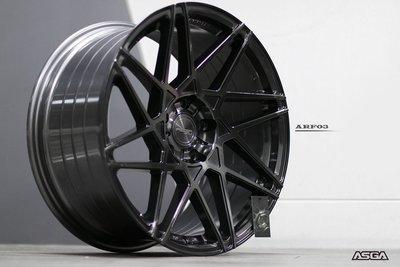 CR輪業 全新 ASGA ARF03 19吋鋁圈 旋壓輕量化 完工價:9000 石墨灰 各色 各車系 歡迎洽詢