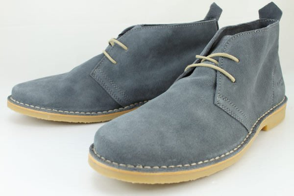 INDiCE ↗ Jack&Jones Premium 男性麂皮沙漠靴 單寧藍