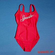 Speedo 女 Shoshin 泳裝 運動泳裝 連身泳裝 紅 SIZE:32/34/36/38