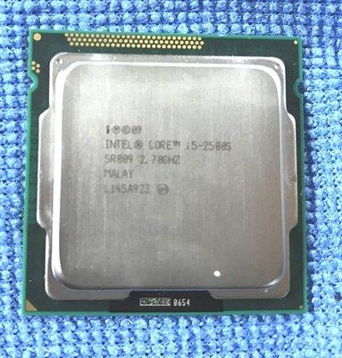 【漾屏屋】 Intel I5-2500S  四核 CPU 1155 腳位