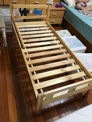 二手 ikea動物造型兒童床(床架+床墊) 自取