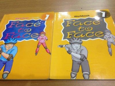書   兒童美語  Face to Face  Ur BEST  SB WB   Book1   附CD