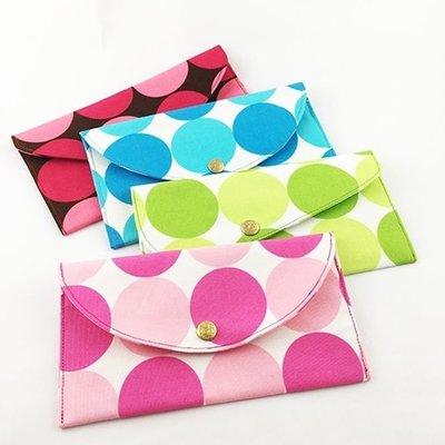 Alamain_福氣袋_幸福大圓點(4色)_紅包袋、布紅包_LE-106-109