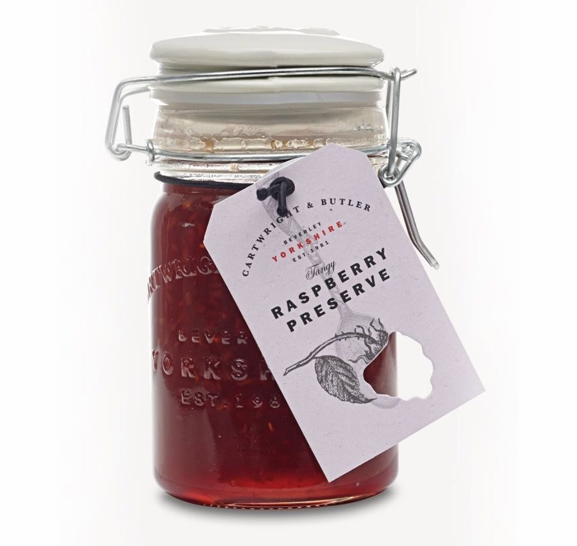 英國CARTWRIGHT & BUTLER Raspberry preserve 300g 覆盆子果醬(預購)