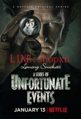 A Series of Unfortunate Events 雷蒙‧斯尼奇的不幸歷險 波特萊爾大遇險 第1-2季 6DV