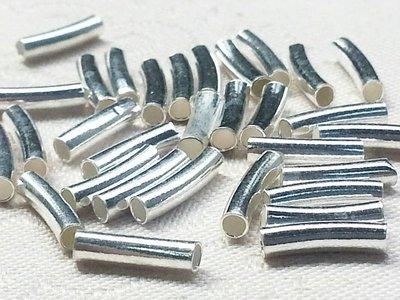 嗨,寶貝手創飾品工作室* 925純銀飾品 寶石飾品☆小短彎管造形配件☆客製化 全面85折 特價除外