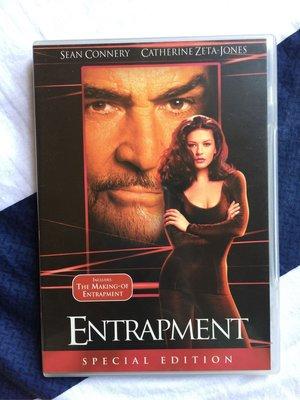 二手DVD-將計就計 Entrapment