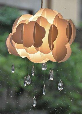 【光合作用】白雲飄飄-雨滴吊燈燈罩