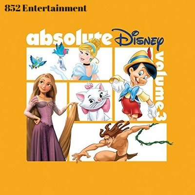 VA Absolute Disney: Volume 3 CD 2018 (包郵)