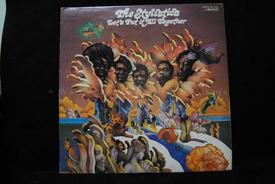 [Vintage西洋] 中古黑膠,The Stylistics, Let's put it all together,