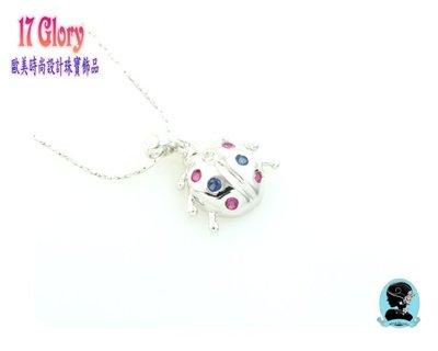 【趣味小瓢蟲■925純銀墜鍊】趣味時尚...