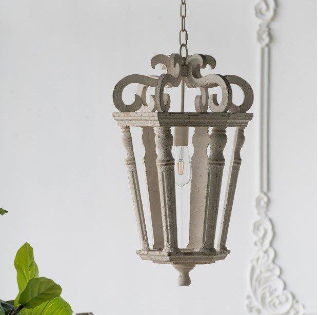 法式餐桌藝術 手工製作 復古做舊吊燈