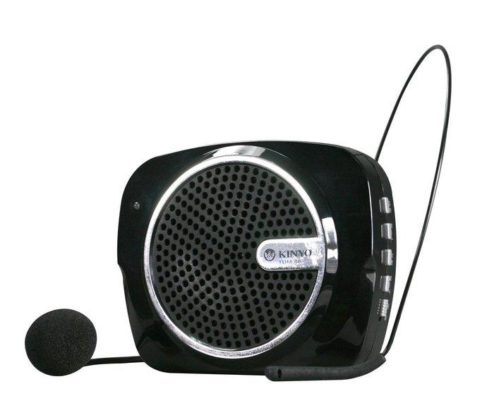 【須訂購】充電式多功能擴音器TDM88附高感度麥克麥,提供最佳收音效果支援Micro SD記憶卡,支援隨身碟