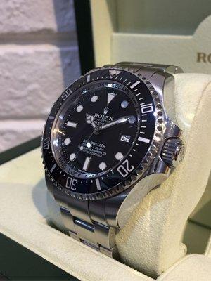 「已交流」Rolex 勞力士 116660 Deepsea RSC保養保固至2021.1月 G字頭 非116610 綠水鬼 水鬼王 114060
