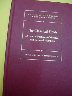 The Classical Fields Structural Features SALZMANN數論z3