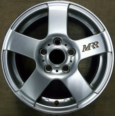 【益和輪胎】5孔114.3 MRR15吋優質中古鋁圈適用FORD TOYOTA HONDA NISSAN HUNDAI