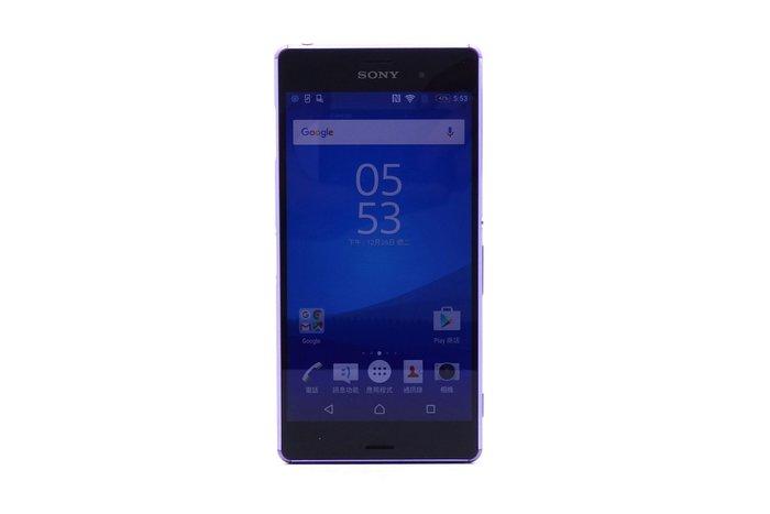 【台中青蘋果競標】Sony Xperia Z3 D6653 紫 16G 無底價競標 標多少賣多少 料機出售 #20427