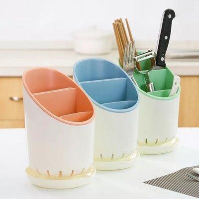 塑料瀝水筷子架 勺子置物架 多 廚房餐具收納架 筷子筒