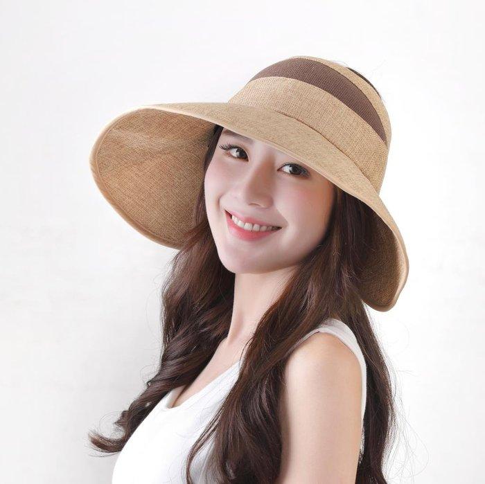 日本防曬遮陽帽 夏天空頂帽 UPF50+防紫外線日本防曬帽 沙灘帽 遮陽帽 渡假帽 日本帽子