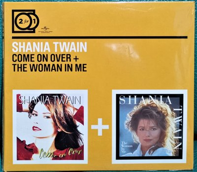 SHANIA TWAIN仙妮亞唐恩 come on over + the woman in me 2CD【歐版全新未拆】