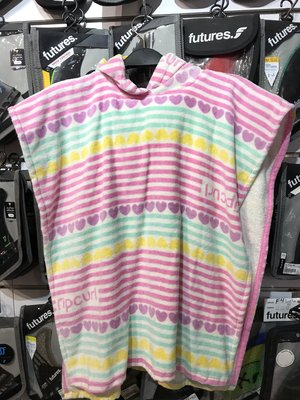 兒童毛巾衣 Rip Curl Heartbeat Hooded Towel