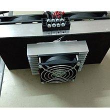 寵物用DC12V 240W 風冷式 致冷模組 吹出冷風+DC12V/30A電源供應器