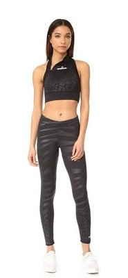 出清價! Adidas by Stella McCartney Run Zebra Legging慢跑 瑜珈褲 內搭褲 貼腿褲S號