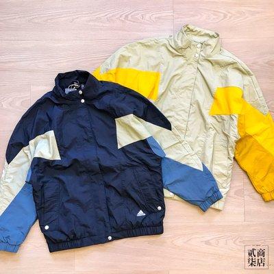 (貳柒商店) Adidas MHS Woven TT 女款 外套 落肩 防風 黑藍 GF6958 米色 GF6964