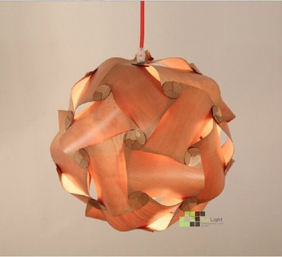 【SUN LIGHT 日光燈坊】IQ Light吊燈-木頭版 ,另有復古工業LOFT吊燈