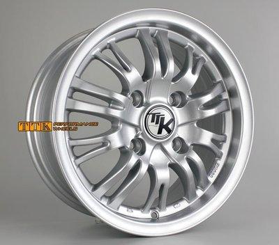 【員林 小茵 輪胎 舘】最新款14吋鋁圈樣式 4孔114.3 / 6J / ET38 高亮銀
