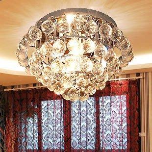 {美學}弗森 璀璨純水晶燈吸頂燈 臥室燈 客廳書房臥室MX-2091