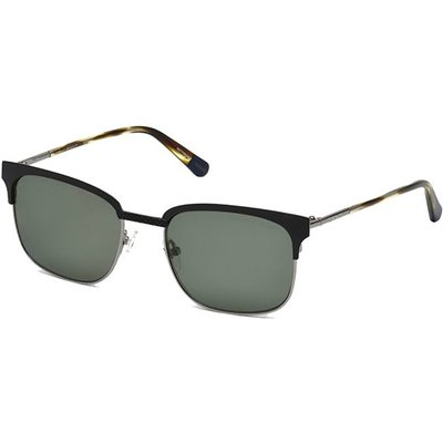 Gant Textured Browline Matte Blank Classic 55mm Sunglasses 男士太陽眼鏡 全新現貨正品
